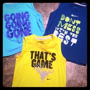 Other - Toddler nike shirts size 4t all for 20$